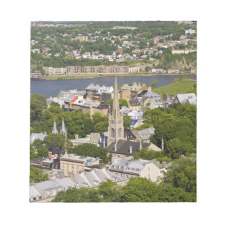 Quebec City, Quebec, Canada. Looking down on the Memo Pad