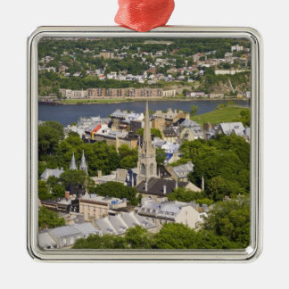 Quebec City, Quebec, Canada. Looking down on the Metal Ornament