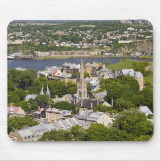 Quebec City, Quebec, Canada. Looking down on the Mouse Pad
