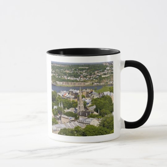 Quebec City, Quebec, Canada. Looking down on the Mug