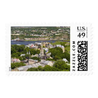 Quebec City, Quebec, Canada. Looking down on the Postage