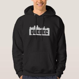 Quebec City Skyline Hoodie