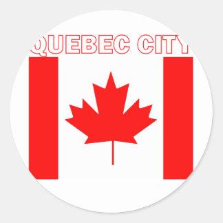 Quebec City Stickers