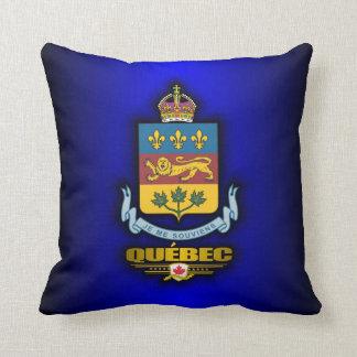 Quebec COA Throw Pillow