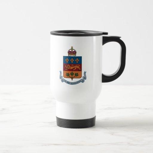 Quebec Coat of Arms (alternative) Mug