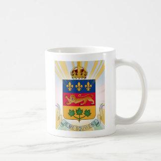 Quebec Coat of Arms Coffee Mug