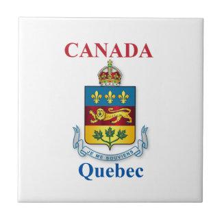 Quebec coat of arms tile