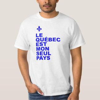 Quebec es mi solo país playera
