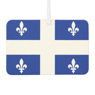 Quebec flag car air freshener