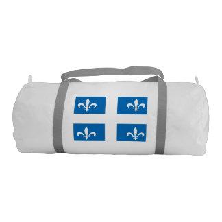 Quebec Flag Gym Duffel Bag