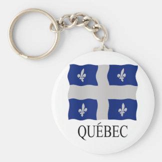 Québec flag keychain