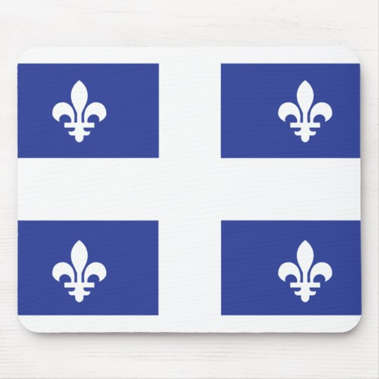 Quebec Flag Mouse Pad