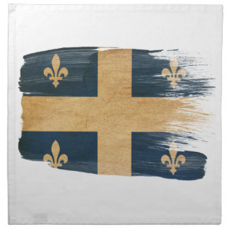 Quebec Flag Napkin