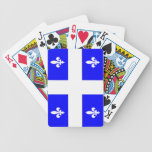 Quebec Flag Playing Cards