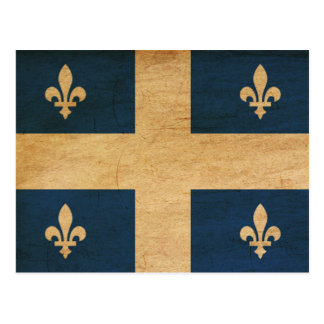 Quebec Flag Postcard