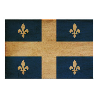 Quebec Flag Posters
