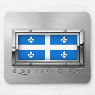 Quebec Flag (Steel) Mouse Pad
