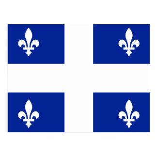 Quebec Flag - Vive le Québec libre Postcard
