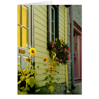 Québec Flowers Stationery Note Card