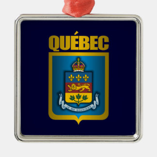 Quebec Gold Metal Ornament