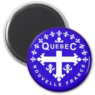 Québec Imán Redondo 5 Cm