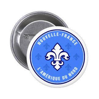 Quebec,La Belle Province Pinback Buttons