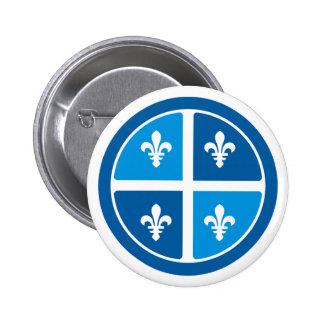 Quebec, La Belle Province Pin Redondo De 2 Pulgadas