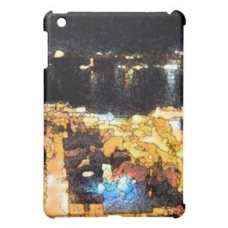 Quebec night view iPad mini case