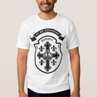 Quebec,Nouvelle-France Tee Shirt