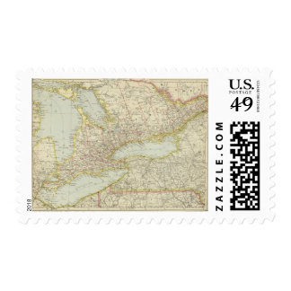 Quebec, Ontario, Canada Postage