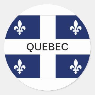 Quebec Province Flag Sticker