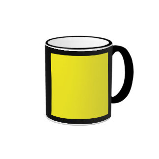 Quebec (Q) Signal Flag Ringer Coffee Mug