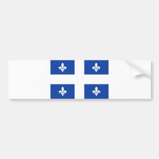 quebec region canada country flag bumper sticker