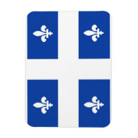 quebec region canada country flag magnet