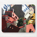 Quebec Roofs Mouse Pads