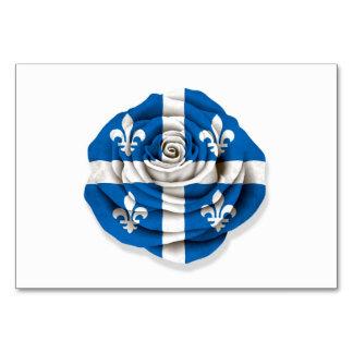 Quebec subió la bandera en blanco