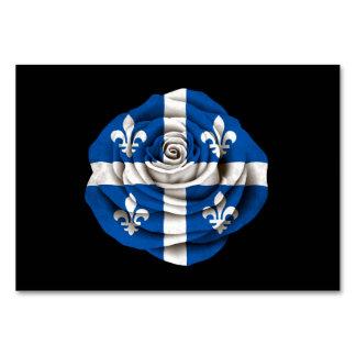Quebec subió la bandera en negro