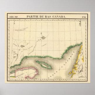 Quebec, Terranova Canadá 36 Póster