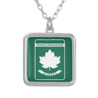 Quebec, Trans-Canada Highway Sign Pendants