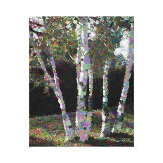 Quebec Trees Canvas Print