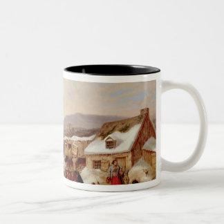 Quebec Two-Tone Coffee Mug