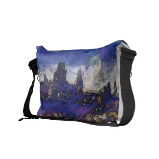 Quebec Van Gogh way Courier Bag