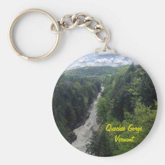 Quechee Gorge, Vermont Keychain