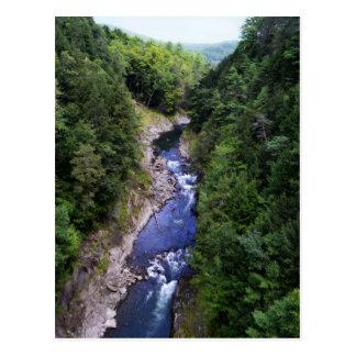 Quechee Gorge, Vermont Postcard