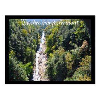 Quechee Gorge,Vermont - Postcard