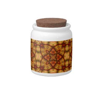 Quechua Mandala Taquina Candy Jar