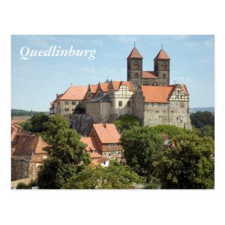 Quedlinburg Castle Postcard