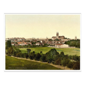 Quedlinburg, Hartz, Alemania Photochrom raro Tarjeta Postal