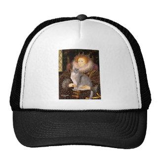 Queen- Abussinian (blue 21) Trucker Hat