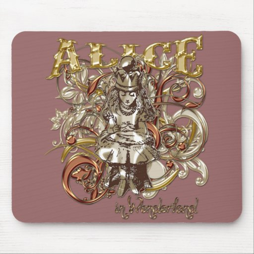 Queen Alice Carnivale Style (Gold Version) Mouse Pad